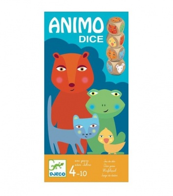 Djeco Animo Dice Game DJ08475